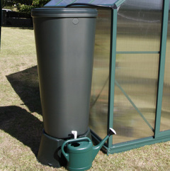 Watering your Greenhouse plants & collecting precious rainwater