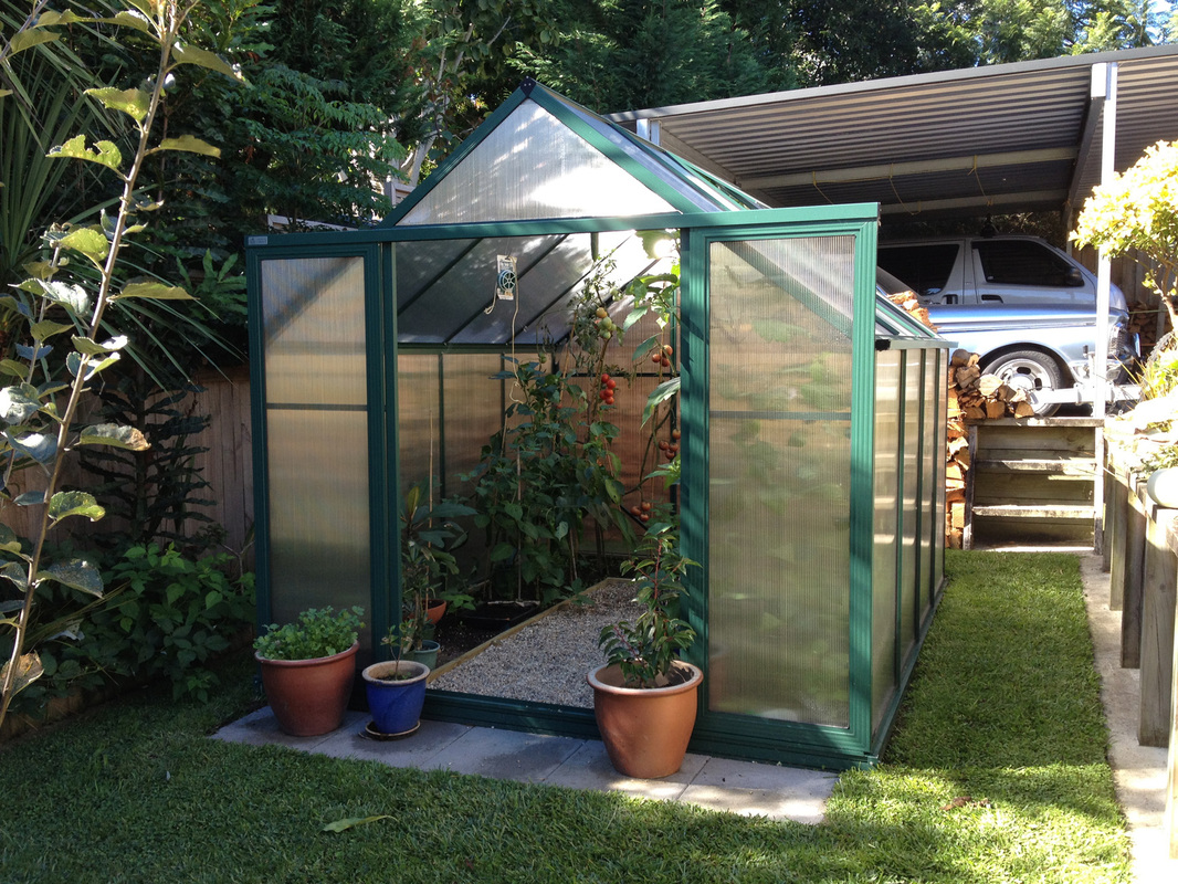 how to position your greenhouse glasshouse on your site